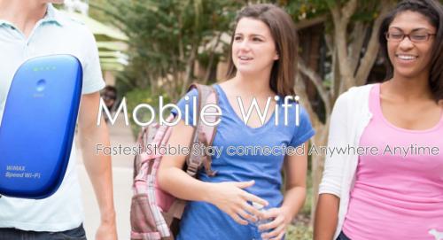旅行者・帰国される方に最適でリーズナブルなWIFIレンタルサービス