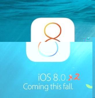 早いな!致命的バグは修正されiOS8.0.2が早くもダウンロード可能